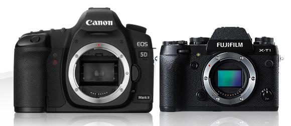 Mały ale wariat! – czyli Fuji XT-1 vs. Canon 5D i kilka innych.